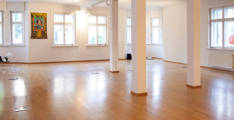 Yogastudio 15, Raum